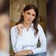 Camicia da divisa donna elegante, maniche lunghe, modello semi-fit, colore bianco, tessuto cotone, easy iron