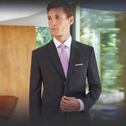 Completi uomo: giacca e pantalone, abiti uomo spezzati per divise da lavoro eleganti e abbigliamento professionale