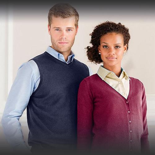Maglie, Maglioncini, gilet e cardigan eleganti per divise da lavoro eleganti
